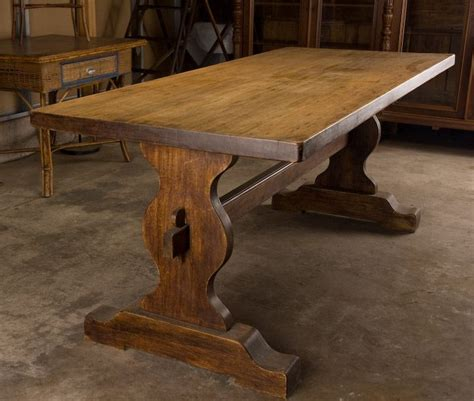 vintage trestle table 1000 images about trestle tables on 3261