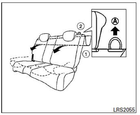 si鑒e rabattable nissan micra siège arrière rabattable sièges sécurité sièges ceintures de sécurité et dispositif de protection complémentaire