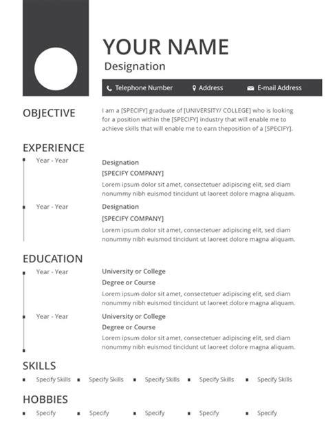 35+ Sample CV Templates - PDF, DOC | Free & Premium Templates