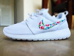 design roshe run womens custom nike roshe run floral design custom floral