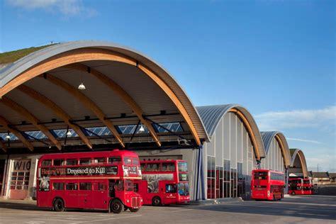 Tfl West Ham Bus Garage  Prs Architects