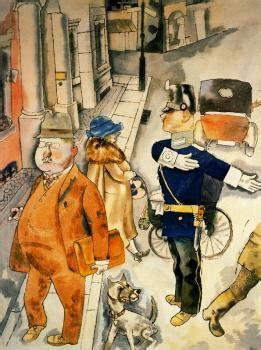 George Grosz Oil Paintings