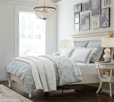 Pottery Barn Bedding by Scroll Organic Duvet Cover Sham Pottery Barn