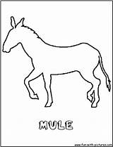 Mule Coloring Pages Outline Horse Donkey Cartoon Colouring Quilt Pack Printable Fun Trail Getcoloringpages Getcolorings Wild Carcabin sketch template