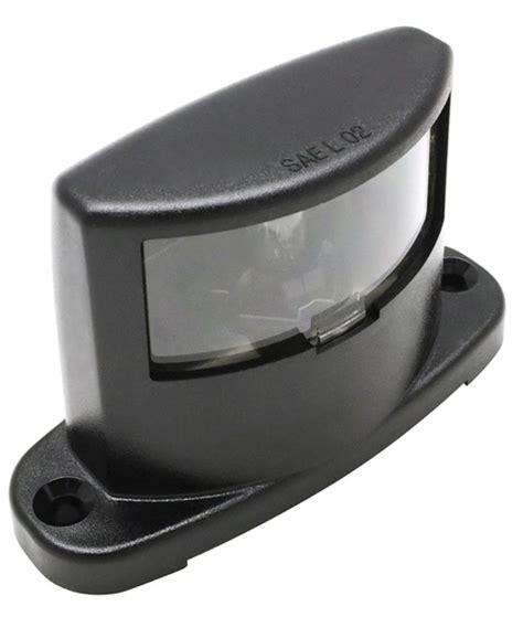 License Plate Light by License Plate Light Incandescent Black 1m B300 Mirage