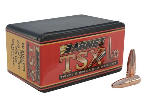 Barnes Triple-shock X (tsx) Bullets 375 Cal (375