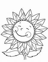 Sunflower Coloring Happy Pages Sunflowers Flower Flowers Drawing Van Trippy Gogh Draw Fun Colornimbus Getdrawings Colorings Explore Daisy sketch template