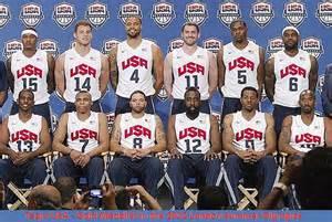 NBA Basketball Team USA