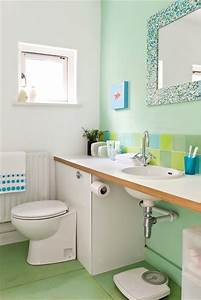 20 tranquil colorful green bathroom designs home design With tranquil bathroom colors
