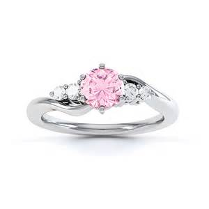 pink engagement ring tickled pink sapphire engagement ring