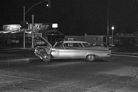 Old Auto Accidents In Fresno (1960  1966) Flashbak
