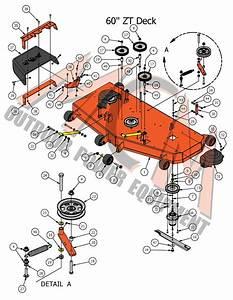 Bad Boy Mower Part  2017 Zt Elite 60 U0026quot  Deck Assembly