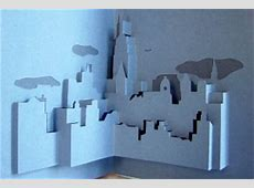 Brooklyn Bridge popup card to download and make yourself