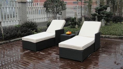 adjustable resin wicker lounge chair set chaise lounge