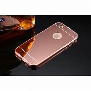 Coque Rose Iphone 6 : miroir coque iphone 6 6s or rose achat coque bumper ~ Teatrodelosmanantiales.com Idées de Décoration