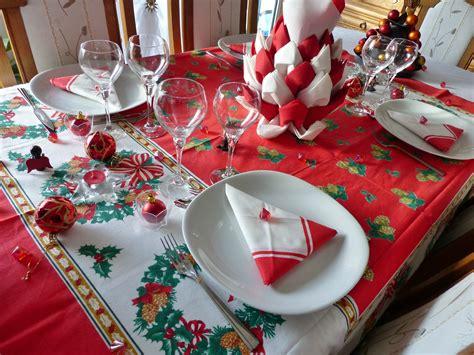 d 233 coration table de noel et blanc avec lareduc