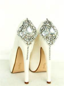 wedding shoes ivory cinderella 39 s shoes swarovski wedding shoes silver bling ivory bridal shoes 2222259