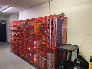 Wire Mesh Security Lockers