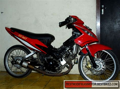 Gambar Modifikasi Motor Mx by Modifikasi Yamaha Jupiter Mx Drag Gambar Modifikasi