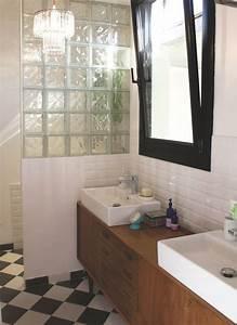 diy meuble de salle de bains 3 idees pour un relooking With meuble scandinave salle de bain