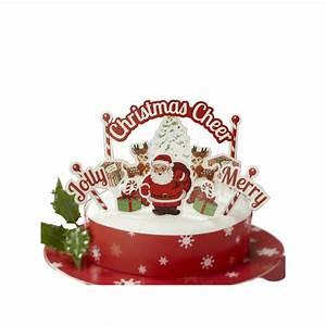 Photo Deco Noel : decorations de noel pour gateau ~ Zukunftsfamilie.com Idées de Décoration