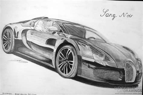 bugatti car drawings pictures