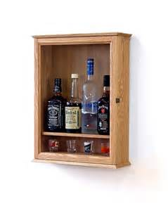 liquor cabinet wall mounted