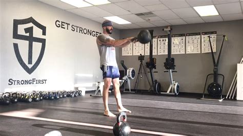 kettlebell reps swings 56kg