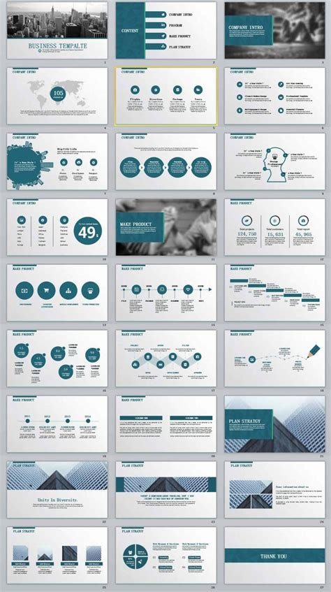 business report professional powerpoint templates