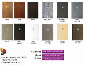 Receveur Salle De Bain : receveurs de douches panneau mural panneaux muraux en r sine de la couleur des receveurs de ~ Melissatoandfro.com Idées de Décoration