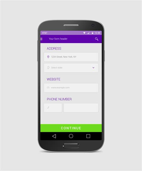 photo app for android simple android form tempees