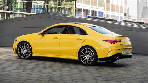 Its exterior conveys pure driving pleasure even when stationary. 2020 Mercedes-AMG CLA 35 Packs a Punchy 302 HP - Motor ...