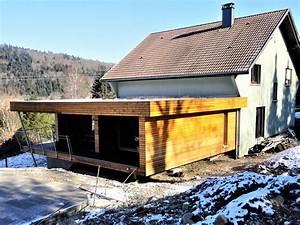 Agrandissement Maison : agrandissements et extensions bois de maisons en alsace ~ Nature-et-papiers.com Idées de Décoration
