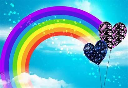 Glitter Graphics Rainbow Backgrounds Copy Nature