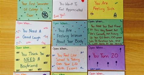 open when letters to your best friend diy pinterest