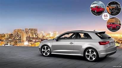 Audi A3 Door Hatchback Silver Wallpapers Line