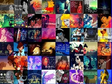 disney collage of icons i ve made hd wallpaper and background 22478546