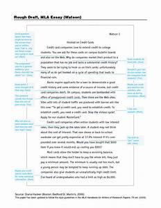 Rough draft sample essay for Rough draft outline template