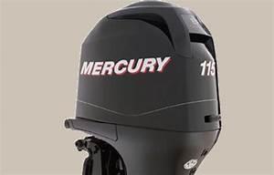 Mercury 115 Hp 4 Stroke Outboard Engine Factory Repair