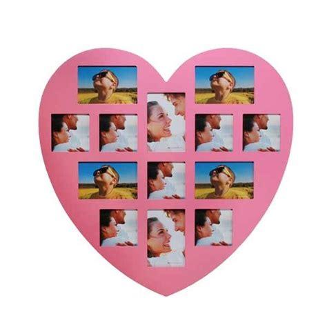 cadre photo forme coeur nouveau le cadre photo en forme de cœur peut contenir 13 photos