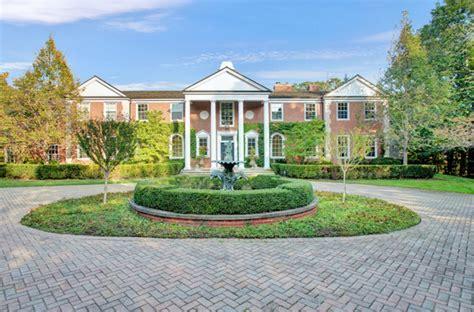 square foot lakefront brick georgian mansion