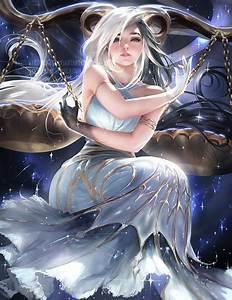 Horoscope series .:Libra:. by sakimichan on DeviantArt