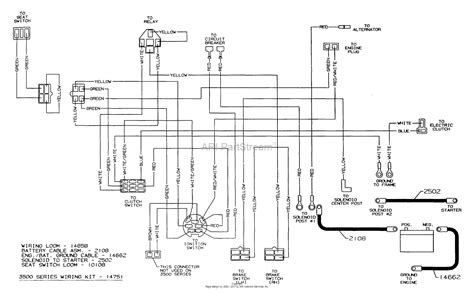 dixon ztr 3536 2003 parts diagram for wiring