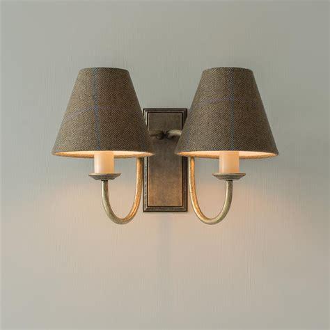 brass double gosford wall lights jim