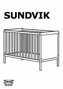 Sundvik Cot Assembly Instructions