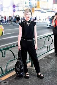 All Black Harajuku Street Style W Zucca Tokyo Bopper