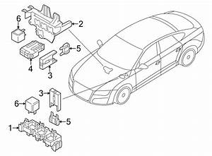 Audi A7 Relay   Rear   Emgine - 4h0951253a