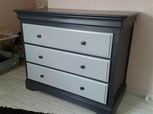Commode En Pin : commode en pin relook e photo de meubles relook s cr ations de fabi ~ Teatrodelosmanantiales.com Idées de Décoration