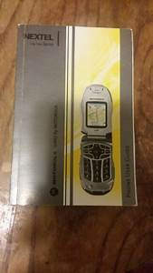 Motorola Sprint Manual User Guide For I C 402 Cell Phone