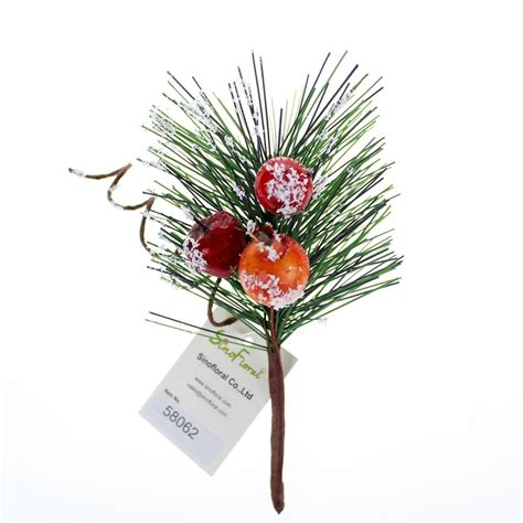 wholesale christmas floral picks picks with berry